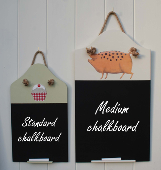 Standard and Medium Chalk Board